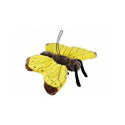Cornelissen Plüss pillangó akasztóval - sárga