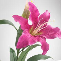 Bugs-World Pink Lily Rózsaszín liliom művirág | 65 cm