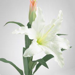 Bugs-World White Lily Fehér liliom művirág | 65 cm