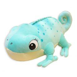 ChameleonFarm Plüss kaméleon XXL - kék | 60 cm