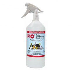 F10 Avian Disinfectant Fertőtlenítő oldat madarakhoz szórófejjel | 1 L