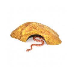 HabiStat Sandstone Reptile Cave Homokkő búvóhely | M