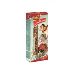 Vitapol Smakers Szentjánoskenyeres rúd rágcsálóknak és nyulaknak | 2 db