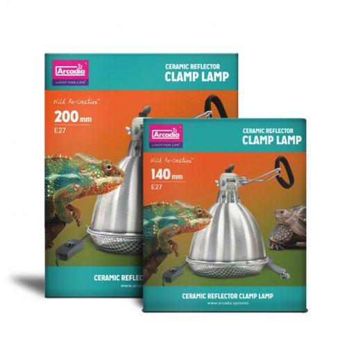 Arcadia Reflector Clamp Lamp Lámpabúrák