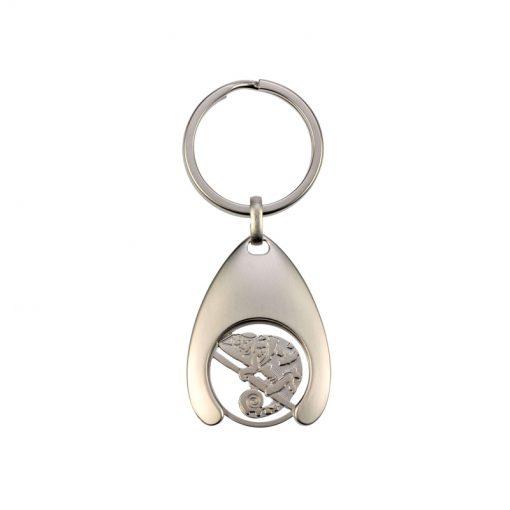 BlueBug Bevásárló érme kulcstartó | Kaméleon