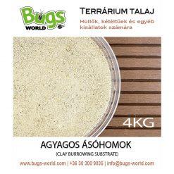 Bugs-World Clay Burrowing Substrate Agyagos ásóhomok | 4 kg