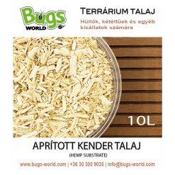 Bugs-World Hemp Substrate Aprított kender talaj | 10L
