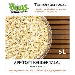 Bugs-World Hemp Substrate Aprított kender talaj | 5L