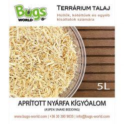 Bugs-World Aspen Snake Bedding Nyárfa kígyóalom | 5L
