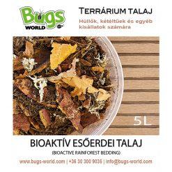 Bugs-World Bioaktív esőerdei talaj hüllőknek | 5L