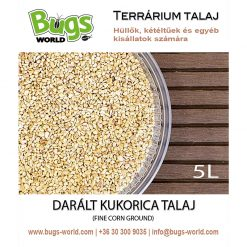 Bugs-World Fine Corn Ground Darált kukorica talaj | 5L