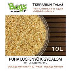 Bugs-World Snake Substrate Puha lucfenyő kígyóalom | 10L