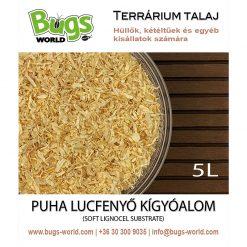 Bugs-World Snake Substrate Puha lucfenyő kígyóalom | 5L
