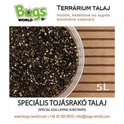 Bugs-World Speciális tojásrakó talaj terráriumba | 5L