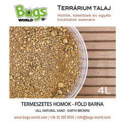 Bugs-World Természetes homok - Föld barna | 4L