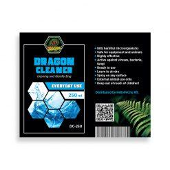 DragonOne Dragon Cleaner Terrárium tisztító, fertőtlenítő oldat | 250 ml