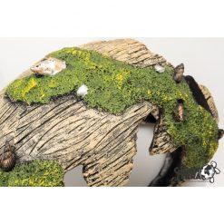 GiganTerra Decayed Barrel Korhadt fahordó dekoráció és búvóhely