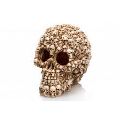 GiganTerra Skull in Skull Koponya mintás dekoráció és búvóhely