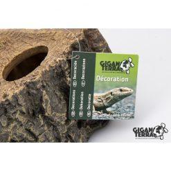 GiganTerra Reptile Shelter Hüllő búvóhely | 15 cm