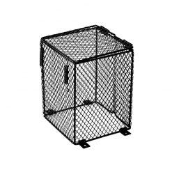 HabiStat Heater Guard Hőálló szögletes védőrács izzókhoz | 16 cm