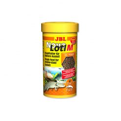 JBL NovoLotl M Teljes értékű növendék Axolotl táp | 250ml