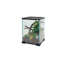 Komodo Nano Habitat Prémium üvegterrárium | 21x21x30 cm