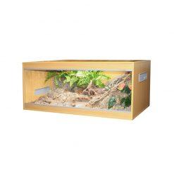 Komodo Ecology Habitat Bükkfa terrárium - Fekvő | L