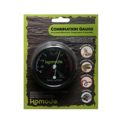 Komodo Combometer Analóg terráriumi hő- és páramérő