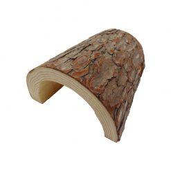 Komodo Wooden Hide Fatörzs alagút búvóhely