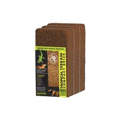 Komodo Tropical Terrain Compact Brick Kókuszrost - 3 x 8L