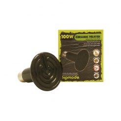 Komodo Ceramic Heat Emitter Black | 100W