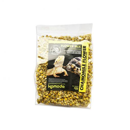 Komodo Chamomile Flower Kamillavirág táplálékkiegészítő hüllőknek | 3x60g
