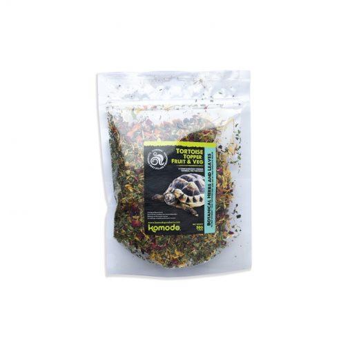 Komodo Tortoise Topper Fruit & Veg Szárazföldi teknős eledel   3x50g