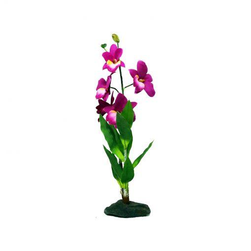 Lucky Reptile Lila orchidea talpas művirág | 40 cm