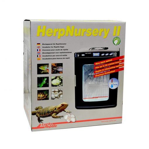 Lucky Reptile Herp Nursery 2 Hűtő-fűtő inkubátor tojáskeltető