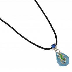 BlueBug UV hangulat nyaklánc - Gekkó | Kék