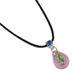 BlueBug UV hangulat nyaklánc - Gekkó | Pink