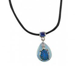 BlueBug UV hangulat nyaklánc - Teknős | Kék
