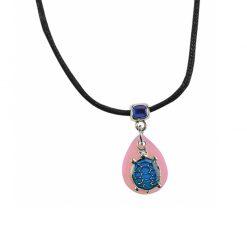 BlueBug UV hangulat nyaklánc - Teknős | Pink