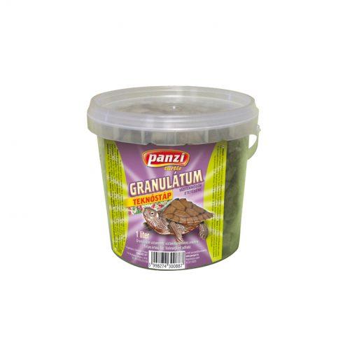 Panzi teknőstáp granulátum | 1L