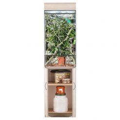 Prémium terrárium szekrény - tölgy | L
