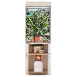 Prémium terrárium szekrény - tölgy | XL