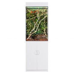 Prémium terrárium szekrény - fehér | L