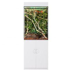 Prémium terrárium szekrény - fehér | XL