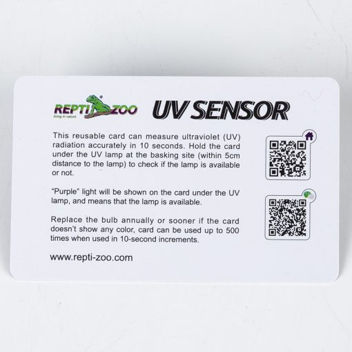 ReptiZoo UVB Sensor UVB sugárzásmérő kártya