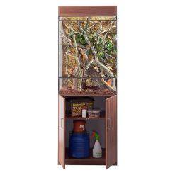 Prémium terrárium szekrény - dió | XL