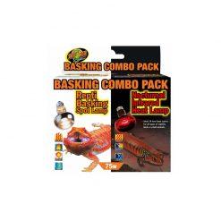 ZooMed Basking Combo Pack - Éjszakai és nappali melegítő izzó