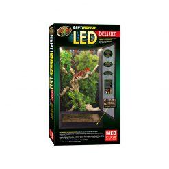 ZooMed ReptiBreeze LED Deluxe Alumínium ketrec világítással | M