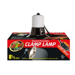 ZooMed Deluxe Porcelain Clamp Lamp Lámpabúra 22cm | 150W